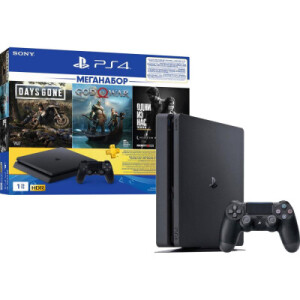 Sony PS4 Slim+3games